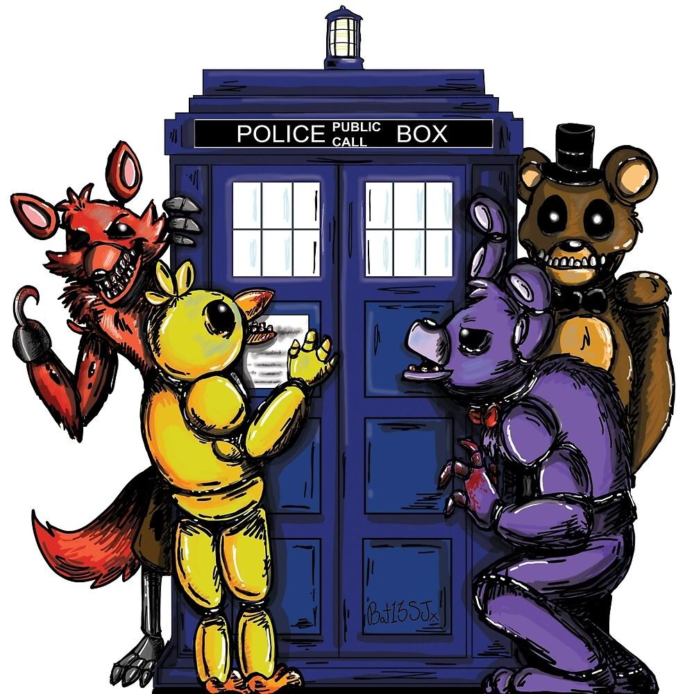 The Animatronics Have the Phone Box  by Sym  Bat