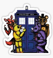 The Animatronics Have the Phone Box  Sticker