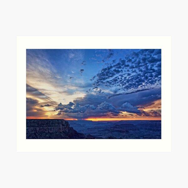 Grand Canyon Skies Art Print