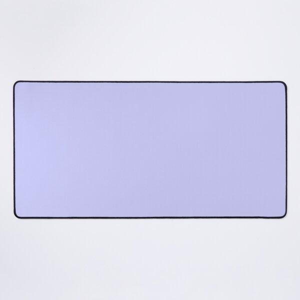 Solid Periwinkle Purple Desk Mat