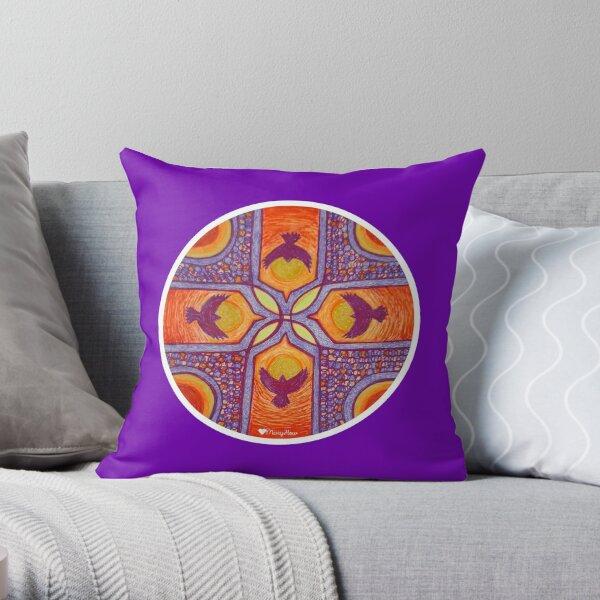 Messenger of Spirit Throw Pillow