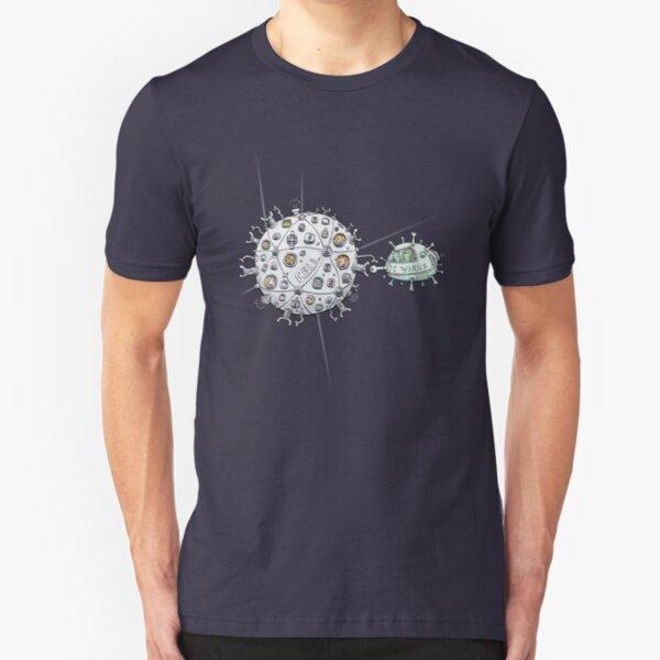 Alien Virus Slim Fit T-Shirt