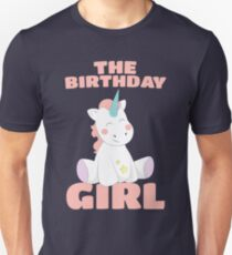 The Birthday Girl - Happy Birthday Magical Unicorn Unisex T-Shirt