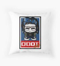 Ashes O'BOT 2.0 Throw Pillow