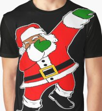 Dab Black Santa Graphic T-Shirt