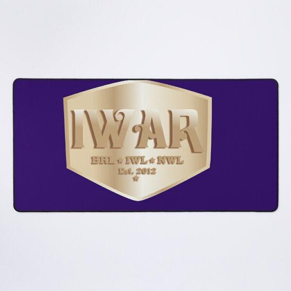 2021 IWAR Network logo Desk Mat