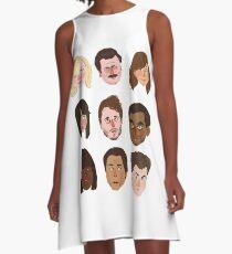 Parks & Rec A-Line Dress