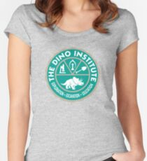 Dino Institute  Women's Fitted Scoop T-Shirt