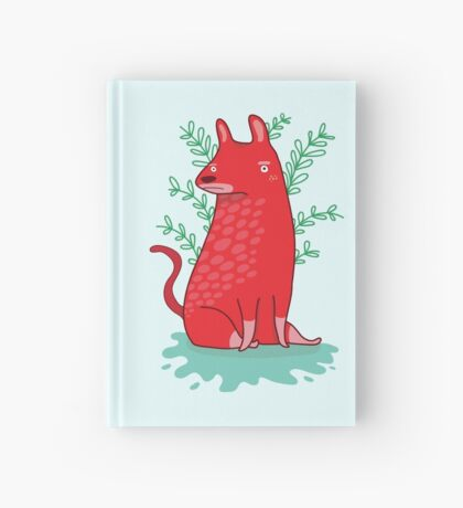 Big red Dog Hardcover Journal