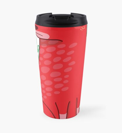 Big red Dog Mug de Voyage