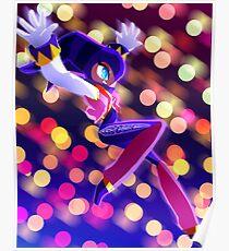 NiGHT sky (glow) Poster