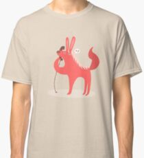 Horse Bunny asking for love Classic T-Shirt