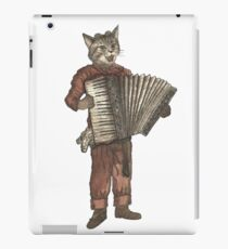 Accordion Cat with Goggles and Mask iPad Case/Skin
