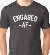 Engaged AF Funny Engagement T-Shirt