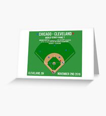 Chicago Are World Champions: The Final Out Greeting Card