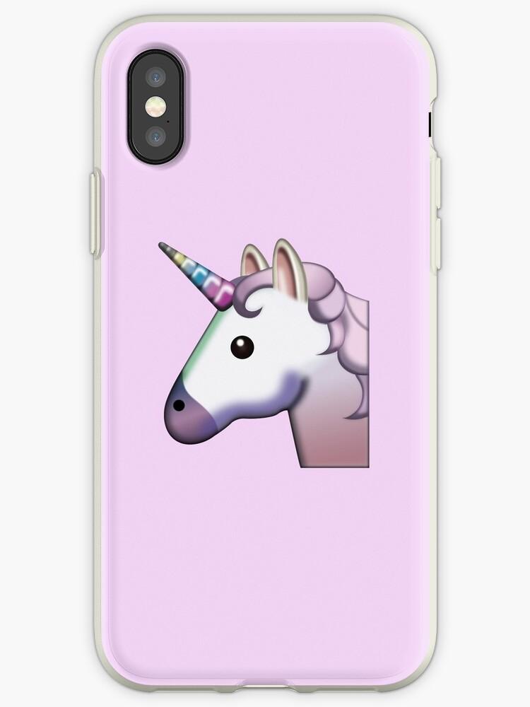 sale retailer 9d2f5 d09d3 'Unicorn Emoji' iPhone Case by elnenedavid