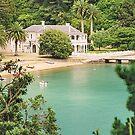Mansion House, Kawau Island, New Zealand by Adrian Paul