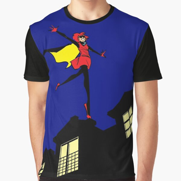 Bandette On The Roof (no logo) Graphic T-Shirt