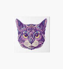 Cat Head (Color Version) Art Board