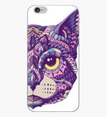 Cat Head (Color Version) iPhone Case