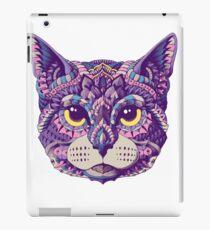Cat Head (Color Version) iPad Case/Skin
