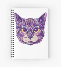 Cuaderno de espiral Cabeza de gato (Versión en color)
