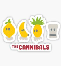 The Cannibals Sticker