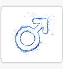 Male Sticker