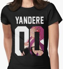 Yandere Jersey Women's Fitted T-Shirt