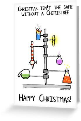 Chemistree Christmas card by ErrantScience