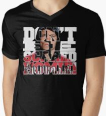 Don't Be Scared Homie! Men's V-Neck T-Shirt