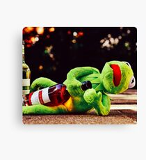Don't Drink and Drive 2 Canvas Print