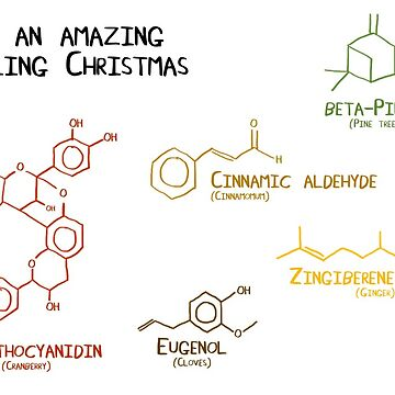 Chemistry behind the smell of christmas by ErrantScience
