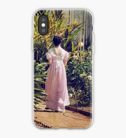 Along the Garden Path iPhone Case