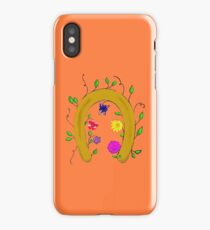 Lucky Blooming Horseshoe iPhone Case/Skin