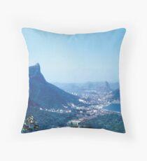1950s Rio — The Vistas Throw Pillow