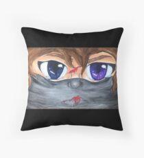 A Ninja's Struggle Throw Pillow