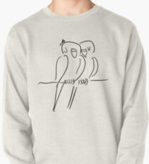 Parrots in Love :) Pullover