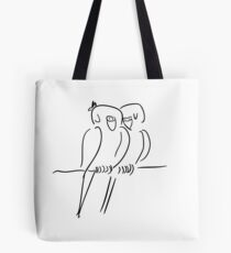 Parrots in Love :) Tote Bag