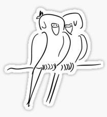 Parrots in Love :) Sticker