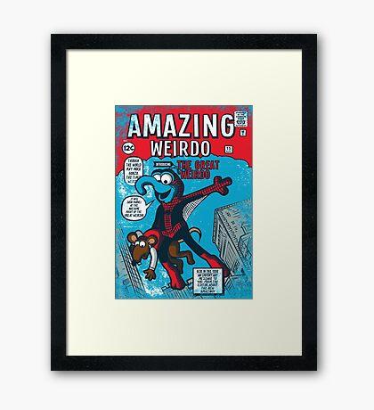 Amazing Wierdo Framed Print