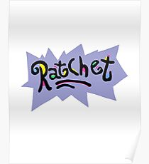 Ratchet - Rugrats Parody Poster