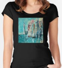 Sail Away Women's Fitted Scoop T-Shirt