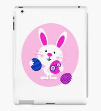Cute cartoon eastern bunny : Little smiling bunny iPad Case/Skin