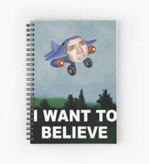 Cuaderno de espiral Nicolas Cage UFO