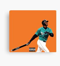 Pen Griffey  Canvas Print