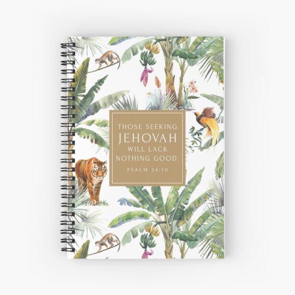 Yeartext 2022 (Animals) Spiral Notebook