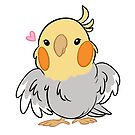 Fluffy Cockatiel by tobiejade