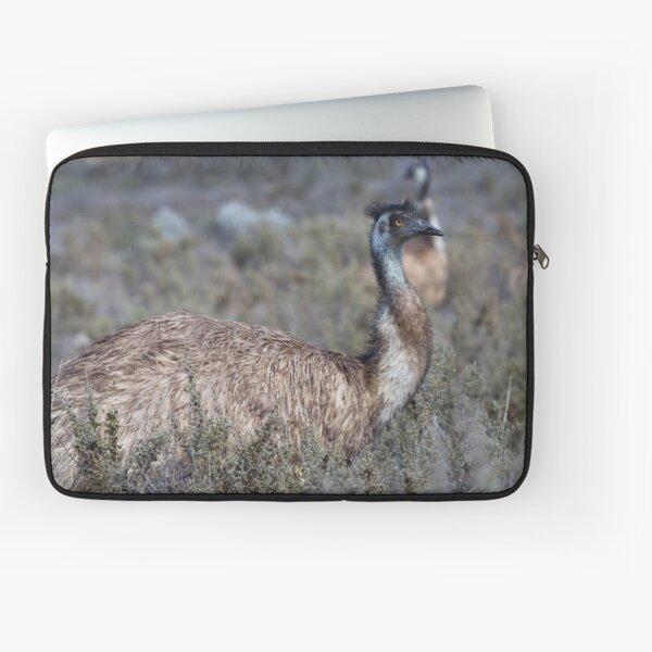 Curious Emu Laptop Sleeve