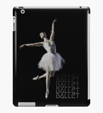 Watercolor Ballerina Sihouette iPad Case/Skin